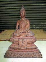 SO Big RARE!Ancient Pra U-Thong-Boran Top Powerful Statue Thai Buddha Amulets - $199.99