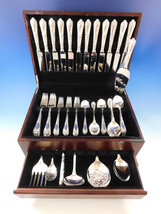 La Regence by Carrs UK Sterling Silver Flatware Set 12 Service 67 pieces... - $9,650.00