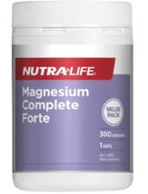 Nutra-Life Magnesium Complete Forte 300 Capsules - $93.66