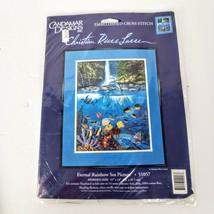 Candamar Designs Embellished Cross Stitch Eternal Rainbow Sea Sewing Kit Sealed - $24.99