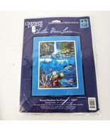 Candamar Designs Embellished Cross Stitch Eternal Rainbow Sea Sewing Kit... - $24.99