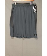 NEW Men's Adidas Climamid Training Shorts 10 Inch Nightshade / Black MED... - $22.94