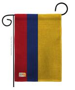 Colombia Burlap - Impressions Decorative Garden Flag G142055-DB - $22.97