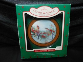"Hallmark Keepsake ""Cedar Waxwing"" 1986 Ornament NEW 5th in Series - $4.46"