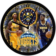 """Denver Nuggets Homemade 8"""" NBA Wall Clock w/ Battery Included - $23.97"""