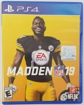 N) Madden NFL 19 (PlayStation 4, 2018) Football Video Game - $5.93