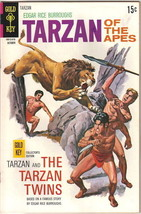 Tarzan Comic Book #196, Gold Key Comics 1970 FINE+ - $14.49