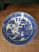 Vintage Occupied Japan Blue Willow Bowls - Blue and White ~ Set of 4 - $16.98