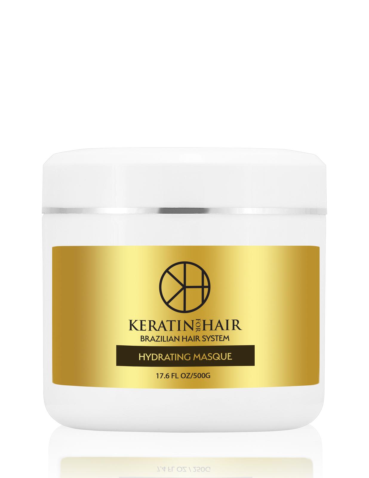 Keratin For Hair Hydrating Hair Masque Mask Deep Repair Conditioning 17 oz