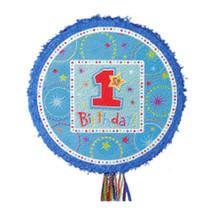 BOYS 1st Birthday Pull String Pinata - $14.49