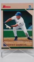 1996 Bowman #166 Johnny Damon Rookie - $4.70
