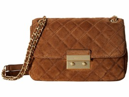 NWT MICHAEL KORS LARGE SLOAN SUEDE SHOULDER BAG... - $178.51