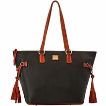 Dooney & Bourke Pebble Grain Tassel Executive Tote