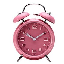 George Jimmy Cute Student Alarm Clock Stylish Silent Bedside Alarm Clock #29 - $42.35