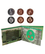 Guyana 1-10 Dollars Copper/Nickel Plated Steel 3 Pieces (PCS) Coin Set,1... - €5,07 EUR
