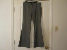 The Limited Women's Dress Pants SZ 8 Drew Fit Flare Leg Bl;ack/White Check  - $7.87