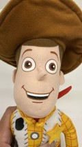 "Disney Parks Pixar Woody Doll With Brown Felt Hat Soft Body 16"" - $19.75"