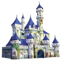 Disney Castle 3D Jigsaw Puzzle Cinderella Princess Magic Kingdom 216 Pieces - $83.23