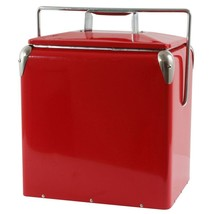 """Picnic Camp Cooler Small Ice Chest Bottle Opener 11.5""""Lx9""""Wx14.5""""H Holds... - €55,62 EUR"""