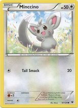 Pokemon - Minccino (87/124) - XY Fates Collide - $0.80