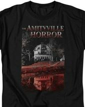 The Amityville Horror House Lutz Family Retro 70s 80s Paranormal T-shirt MGM325 image 3