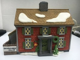 Vintage Dept 56 Dickens Village Series, The Shingle House Christmas Buil... - $39.60