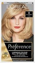 L'Oreal Preference 8 CALIFORNIA Permanent Hair Dye Natural Light Blonde ... - $20.80