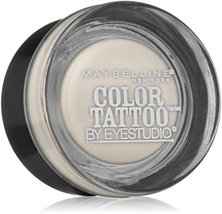 Maybelline EyeStudio Color Tattoo 24Hr Eyeshadow, Too Cool [05], 1 ea (Pack of 2 - $19.59