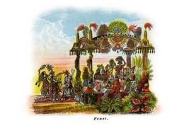 Feast - Mardi Gras Parade Float Design - Art Print - $19.99+
