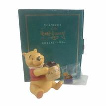 Walt Disney Classics Winnie The Pooh Time For Something Sweet Porcelain Figurine - $23.02