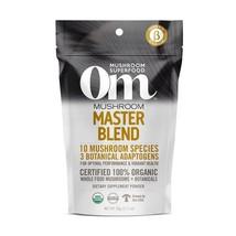 OM Organic Mushroom Extract Superfood Reishi Lion's Mane Cordyceps Chaga... - $39.80