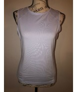 RUSSELL ATHLETIC Dri-Power Womens Light Blue Tank Top Cami Athleisure Si... - $0.98