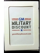 GM Military Discount Playing cards - $8.00