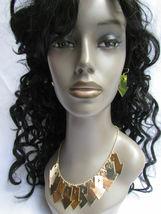 Mujer Sexy Metal Dorado Lightning Flechas Encanto Moda Joyería Collar Set image 10