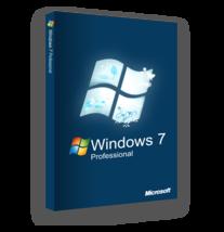 Windows 7 Professional 32/64 Bit Full Version + Lifetime Key - $10.89