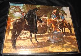 Vtg 1957 ZORRO Walt Disney Movie Frame-Tray Puzzle Whitman - $8.99