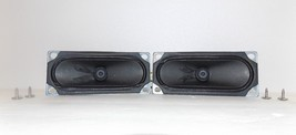 Proscan PLDED 3273A-B TV : Speakers with Cables & Screws {P329} - $12.86