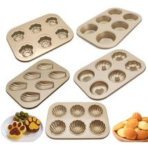 6 Cups Cat Claw Cake Pan Non-Stick Baking Pan - ₹1,215.22 INR+