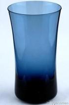 Denby Glass ARABESQUE BLUE ICE Flat Iced Tea Tumbler (5 left) - $12.72