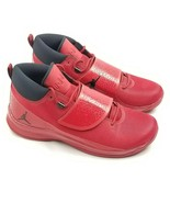 NIKE Air Jordan Mens 881571-601 Super Fly 5 PO Red Basketball Shoes Size 15 - $144.94