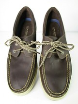 Sperry Top Sider Cup Collection Brown Leather Boat Shoe Men's Size 10M - $35.99