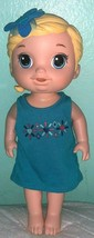 "HASBRO Baby Alive Girl Pees 12"" in Blue Dress - $17.82"