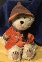 """Boyds EINSTEIN Q. SCAREDYBEAR TEDDY BEAR SCARECROW 10"""" Plush Teddybear  - $14.01"""