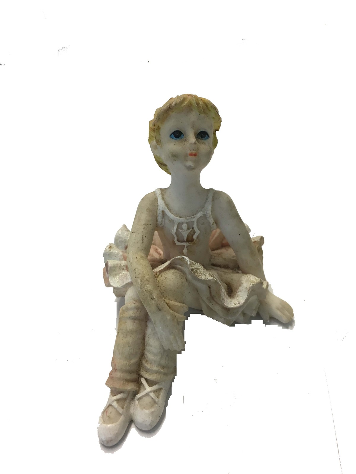 Primary image for BALLET DANCER CERAMIC ORNAMENT