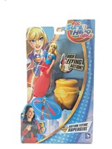 DC Comics 2015 Mattel Doll Super Hero Girl Flying Action Figure New NIP  - $14.84