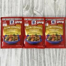 McCormick Slow Cookers General Tso's Chicken Seasoning Mix 1.23 oz 3 Bag... - $22.27