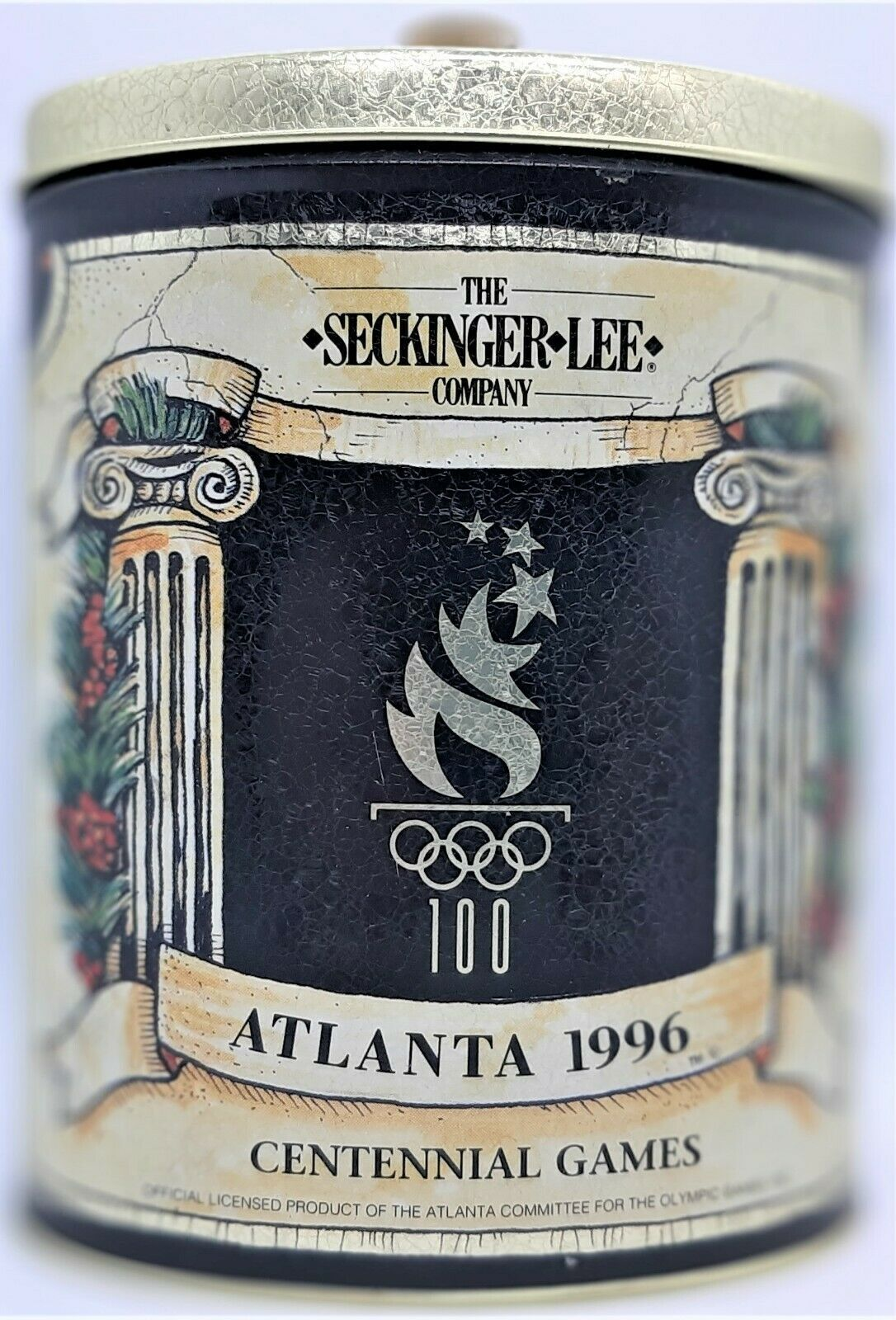 Primary image for Atlanta 1996 Centennial Olympic Games Tin by The Seckinger Lee Co.