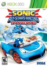 Sonic & All-Stars Racing Transformed Xbox 360 Video Game - $25.88