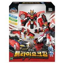 Miniforce Tri Hawk King Action Figure Super Dino Series Transforming Robot Toy