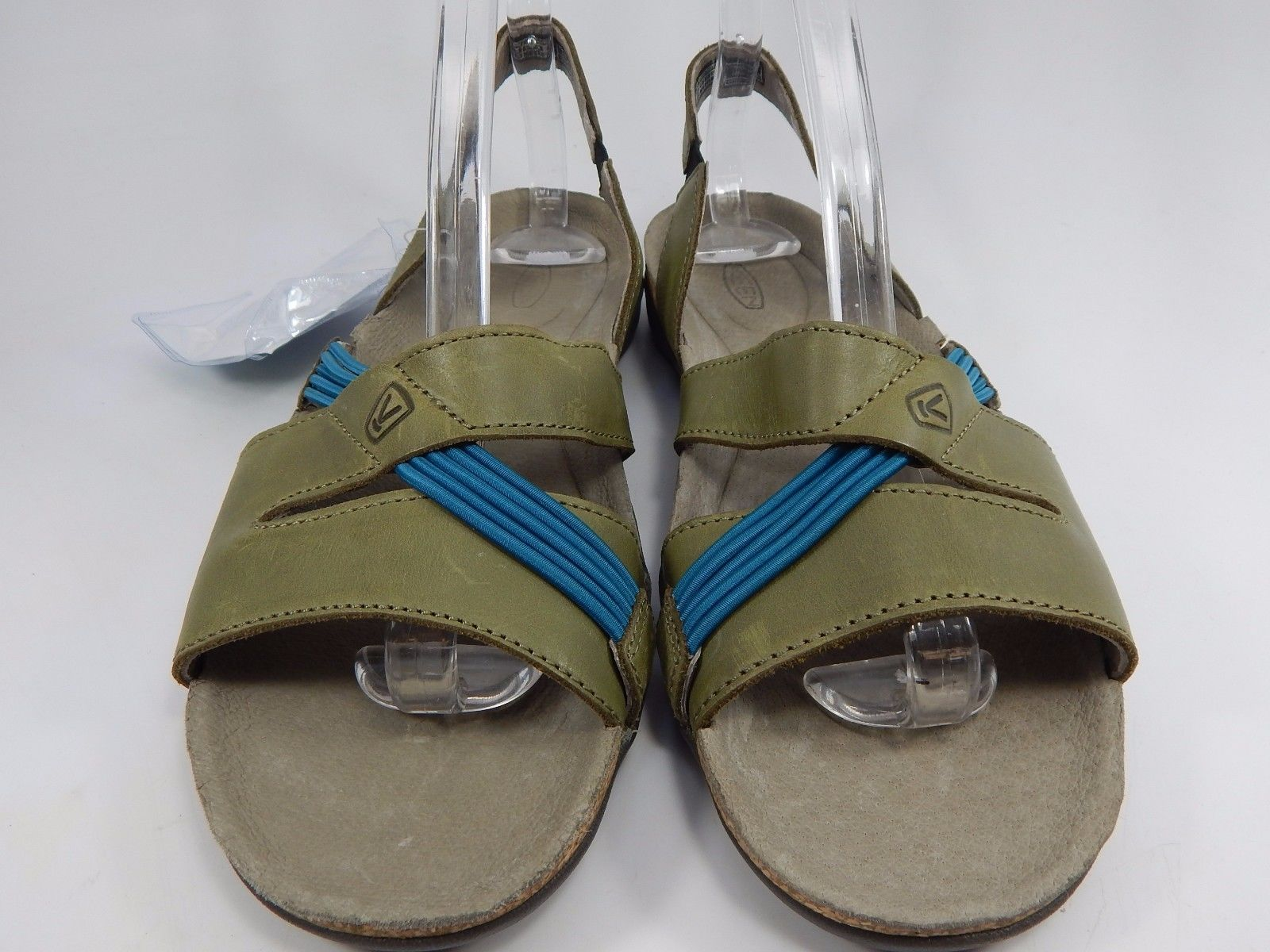 Keen Dauntless Strappy II Women's Sports Sandals Size US 7 M (B) EU 37.5 Olive